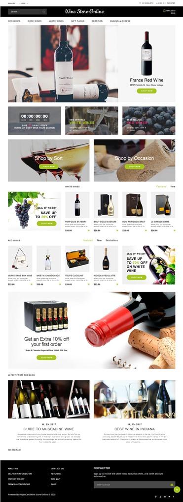 Wine Store Responsive