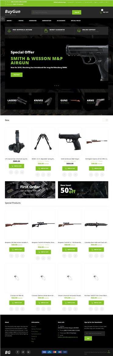 BuyGun - Weapons Store