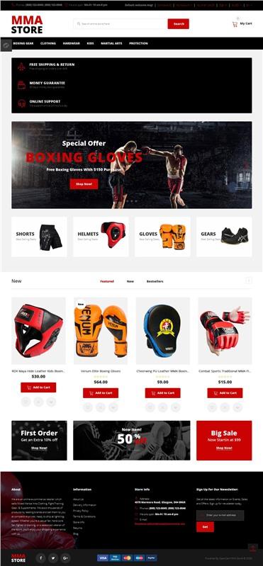 MMA Store - Brutal MMA Sports Gear Online Store