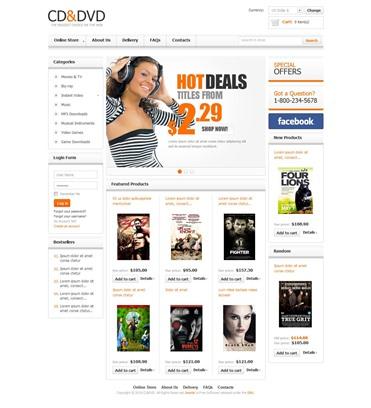 CD & DVD Store