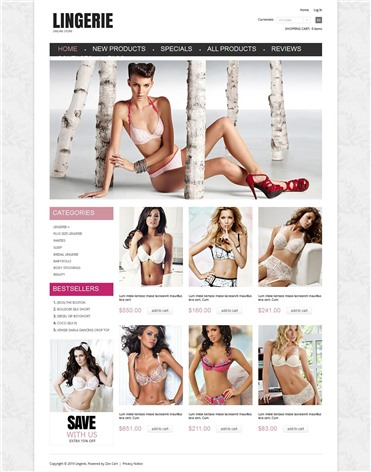 Special Lingerie Store