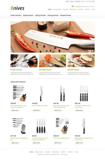 Knives for Your Kitchen
