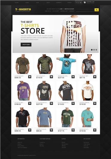 T-Shirts Store
