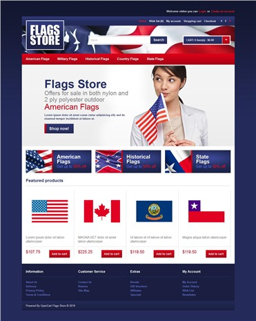 Flags Store