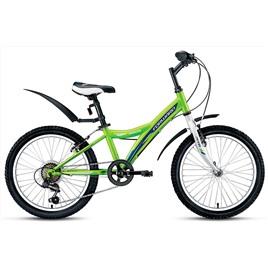 Велосипед Forward Dakota 1.0 20 (2017) Зеленый, интернет-магазин Sportcoast.ru