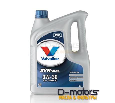 Моторное масло Valvoline Synpower  FE 0W-30 (4л.)