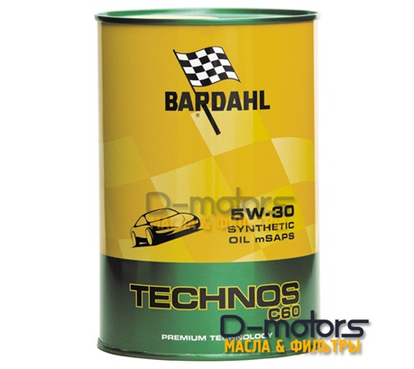 Bardahl Technos C60 5W-30 mSAPS (1л)