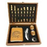 Подарочный набор с шахматами в чемодане Helios GT-TZ209