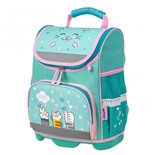 Ранец для девочек Юнландия Wise Soft paws 16 л 229946