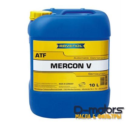 Трансмиссионное масло для АКПП Ravenol  ATF MERCON V (10л)