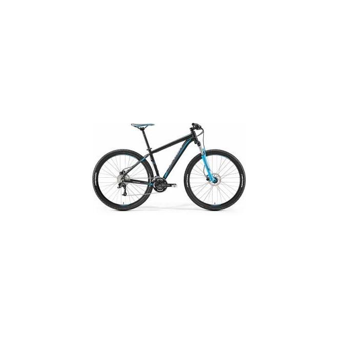 Велосипед Merida Big Nine 70 Matt Black/Blue/Grey (2017), интернет-магазин Sportcoast.ru
