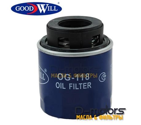 Фильтр масляный GOODWILL для VW POLO седан