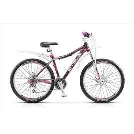 Велосипед Stels Miss-7300 MD Черный/Розовый/Белый (2016), интернет-магазин Sportcoast.ru