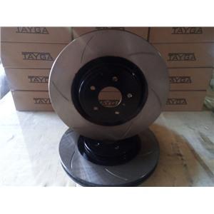 Тормозные диски со слотами