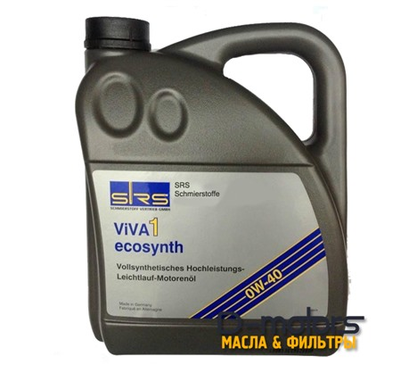 Моторное масло Srs Viva 1 0w-40 (4л.)