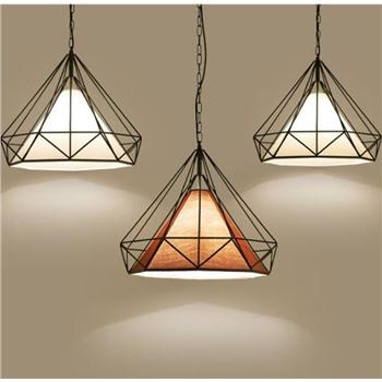 Подвесной кованый светильник