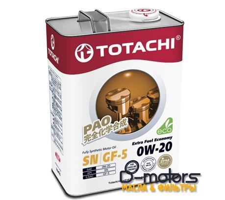 TOTACHI EXTRA FUEL ECONOMY 0W-20 (4л.)