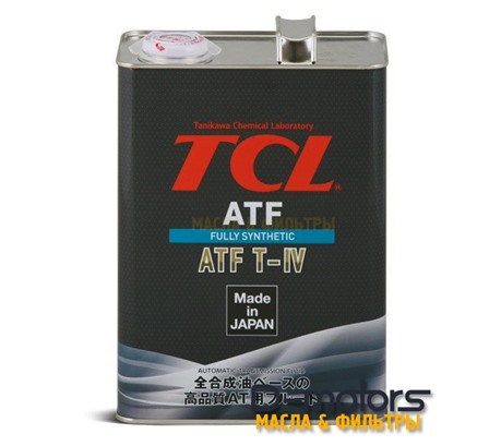 Трансмиссионное масло для автоматических коробок передач TCL ATF TYPE-T IV (4л)