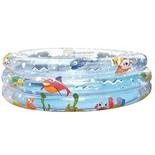 Бассейн надувной детский Jilong Ocean Fun 3-ring (17268) 170х53 см