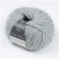 Пряжа Baby Alpaca, цвет 010 Пепельный, 110м/50г, Casagrande