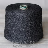 Пряжа Coast  Cвинец 024, 350м в 50 г, Knoll Yarns, Lead