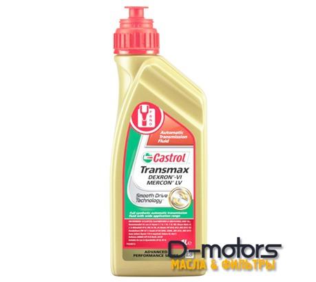 Трансмиссионное масло Castrol Transmax DEX VI MERCON LV (1л.)