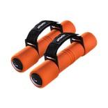 Гантель неопреновая DB-203 1 кг, оранжевая