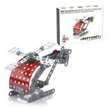 Конструктор металлический Десятое Королевство Вертолет 121 элемент 02028