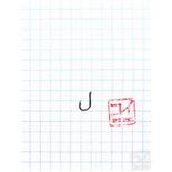 Крючок Koi 4X-Iseama-Ring № 11 /2 (AS), BN (10 шт.) KH861-2BN