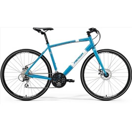 Велосипед Merida Crossway Urban 20MD Fed Metallic Blue/White (2017), интернет-магазин Sportcoast.ru