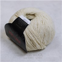 Пряжа Silky, Натуральный 002, 200м/50г, Pro Lana