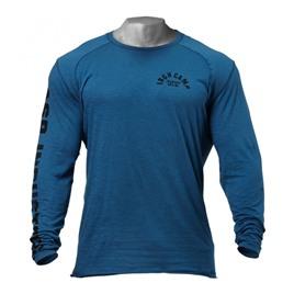 Футболка с длинным рукавом GASP Throwback LS Tee, Ocean Blue