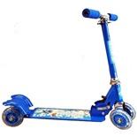 Самокат четырехколесный CMS010 (голубой)
