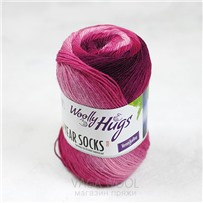 Пряжа YEAR SOCKS, 04 Апрель, 400м в 100г, Woolly Hugs