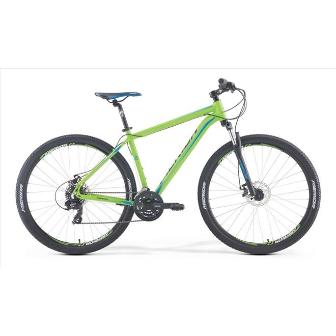 Велосипед Merida Big Nine 10MD Matt Green/Black/Blue/Black (2017), интернет-магазин Sportcoast.ru