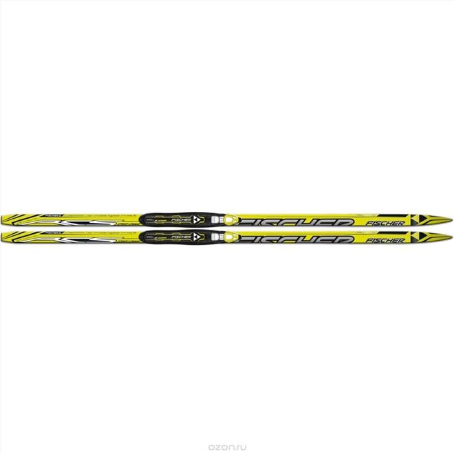 Лыжи Fischer SPRINT CROWN YELLOW NIS JR N63815, интернет-магазин Sportcoast.ru