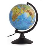 Глобус физический/политический Globen Классик d210 мм с подсветкой К012100089