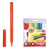 Фломастеры смываемые KOH-I-NOOR Magic 12 цветов 771612AB01TE