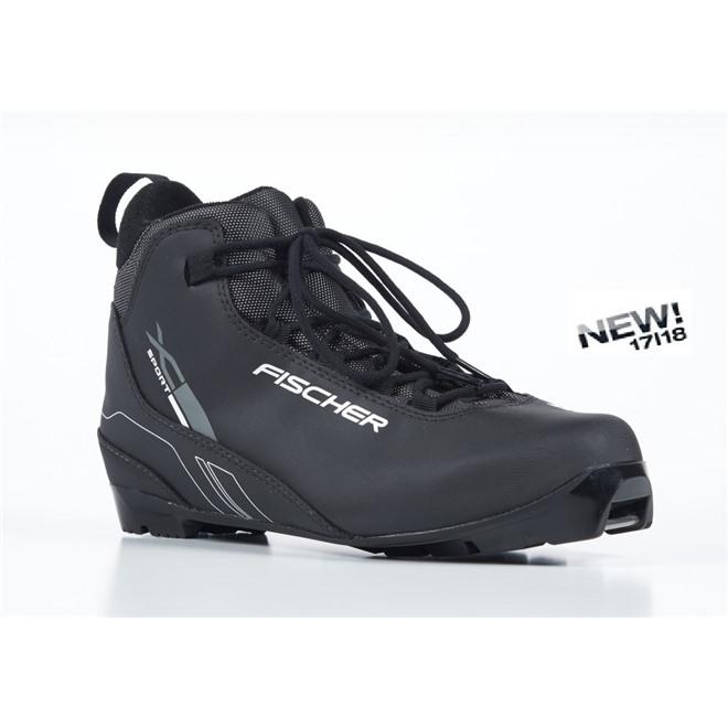 Ботинки NNN Fischer XC SPORT BLACK S23517, интернет-магазин Sportcoast.ru