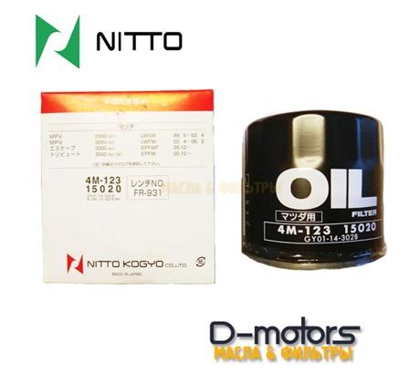 Фильтр масляный NITTO 4M-123