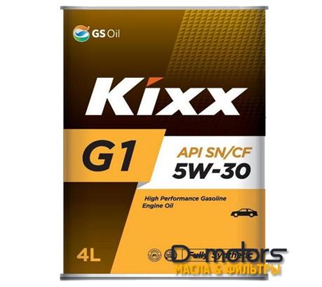 Моторное мало Kixx G1 5w-30 (4л)