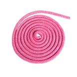 Скакалка для художественной гимнастики RGJ-103 pro, 3 м, розовый с люрексом