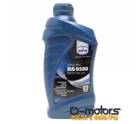 Антифриз готовый сине-зеленый EUROL COOLANT BS 6580 -36°C (1л)