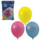 """Шарики воздушные Веселая Затея 10"""" (25 см) 100 шт 12 пастельных цветов 1101-0003"""