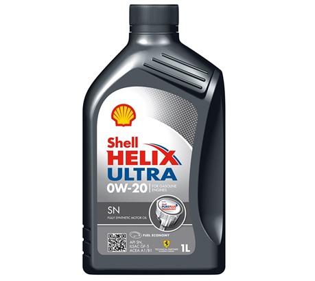 Shell Helix Ultra SN 0W-20 (1л.)